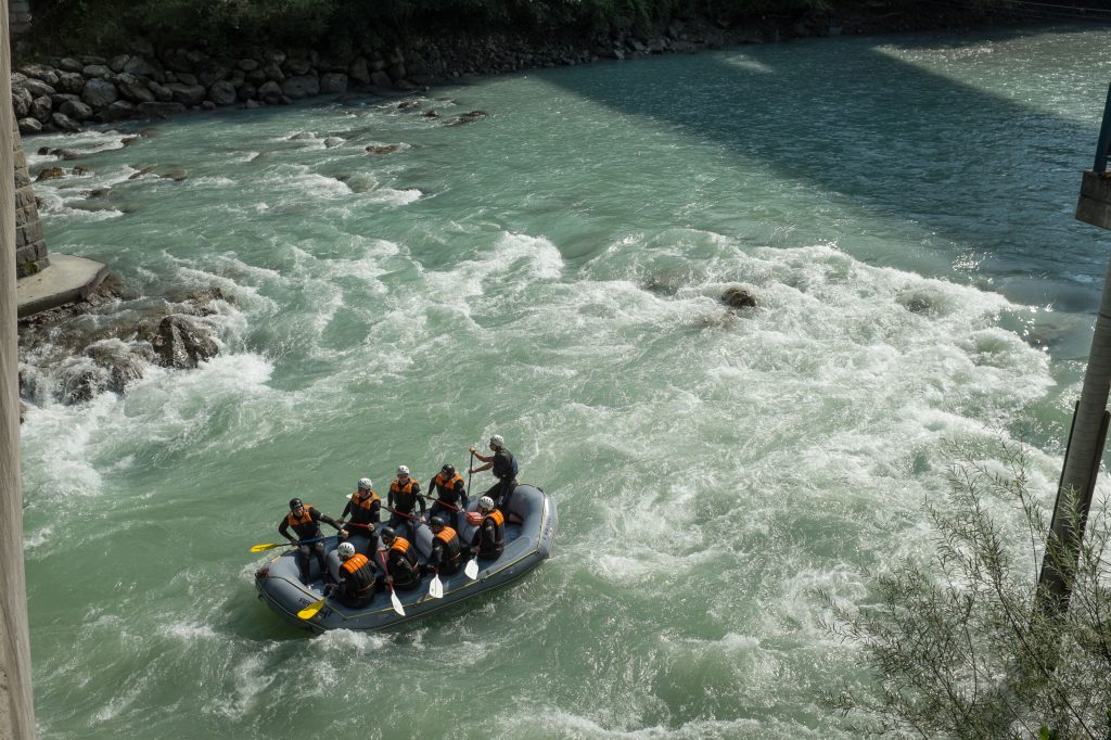 rafting-fluss